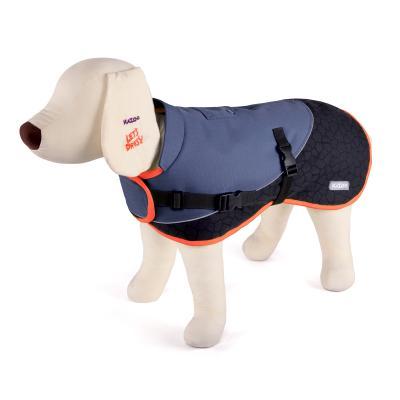 Kazoo Active Two Tone Dog Coat Grey XLarge 66cm