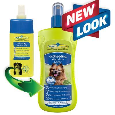 FURminator DeShedding Grooming Waterless Bathing Spray For Dogs 251ml