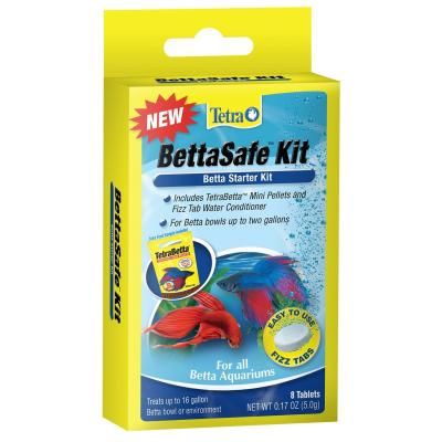 Tetra BettaSafe Starter Kit Aquarium Tank Water Conditioner And Food For Fish