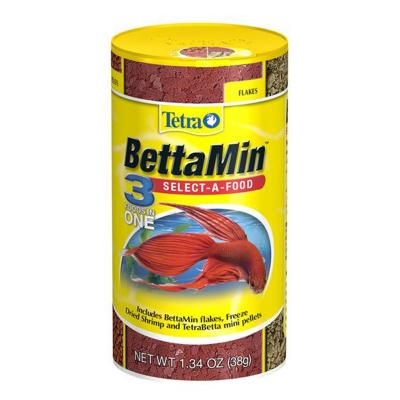 Tetra BettaMin Select A Food 3 Foods In One For Fish 38g