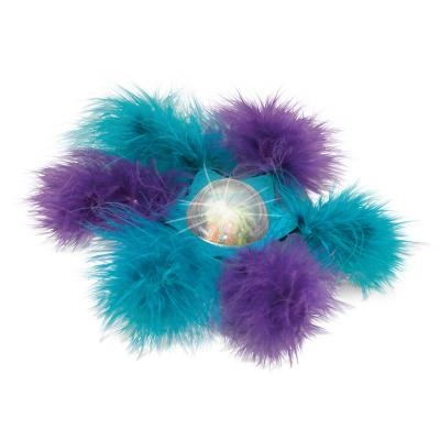 KONG Bat-A-Bout Flicker Flurry Flashing Catnip Toy For Cats