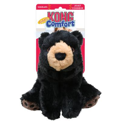 KONG Comfort Kiddos Bear Plush Squeak Small Toy For Dogs