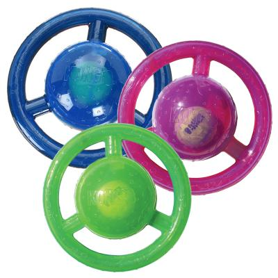 KONG Jumbler Disc Medium Large Toy For Dogs