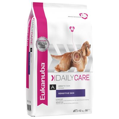 Eukanuba Sensitive Skin and Coat Adult Dry Dog Food 12kg