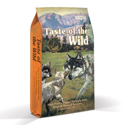 Taste of the Wild Grain Free High Prairie Roasted Bison And Venison Puppy Dry Dog Food 6kg