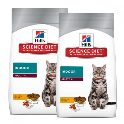 Hills Science Diet Indoor Adult Dry Cat Food 8kg