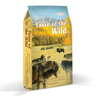 Taste of the Wild Grain Free High Prairie Roasted Bison And Venison Adult Dry Dog Food 6kg