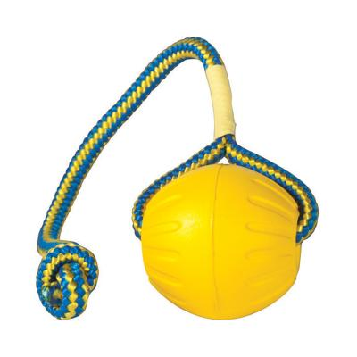 Starmark Swing n' Fling DuraFoam Fetch Ball Medium Toy For Dogs