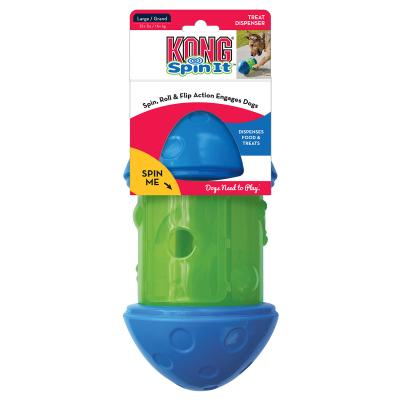 KONG Spin It Food And Treat Dispensing Toy Large For Dogs