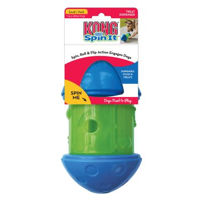 KONG Spin It Food And Treat Dispensing Toy Small For Dogs