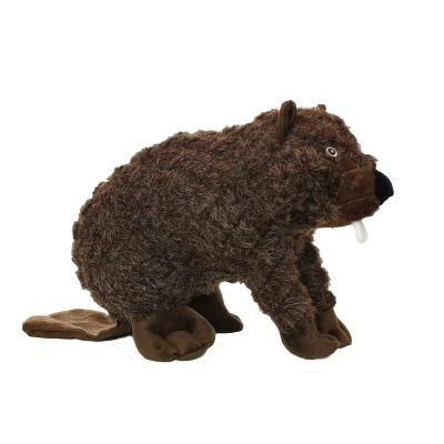Mighty Massive Nature Beaver Soft Toy For Dogs
