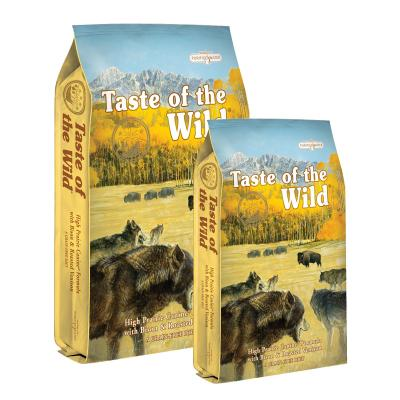 Taste of the Wild Grain Free High Prairie Roasted Bison And Venison Adult Dry Dog Food 19kg