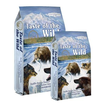Taste of the Wild Grain Free Pacific Stream Smoked Salmon Adult Dry Dog Food 19kg