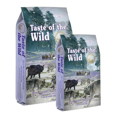 Taste of the Wild Grain Free Sierra Mountain Roasted Lamb Puppy And Adult Dry Dog Food 19kg