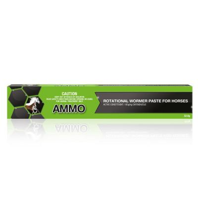 AMMO Rotational Broad Spectrum Wormer Paste For Horses 32.6gm