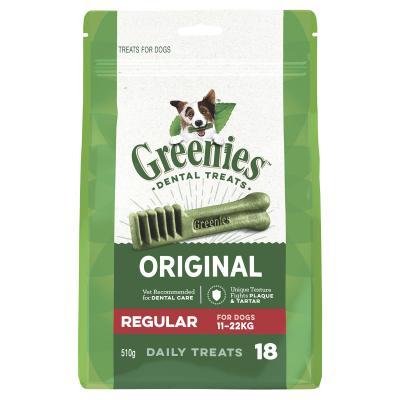 Greenies Dental Treats Original Regular For Dogs 11-22kg (18 Treats) 510gm Mega Pack