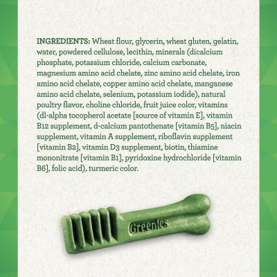 Greenies Dental Treats Original Regular For Dogs 11-22kg (36 Treats) 1kg Value Pack