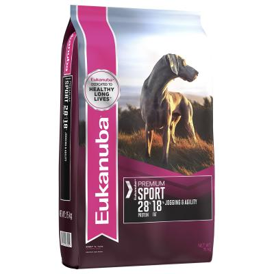 Eukanuba Premium Sport Jogging And Agility Adult Dry Dog Food 15kg
