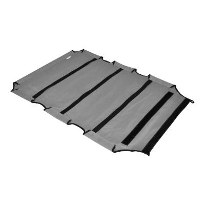 FlashPet Trampoline Bed Grey Canvas XLarge For Dogs