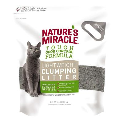 Natures Miracle Lightweight Clumping Clay Cat Litter 4.5kg