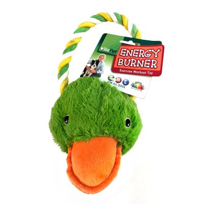 Vitapet Duck With Rope Tug Toy For Dogs