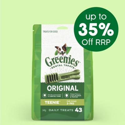 Greenies 340g Treats Up To 35% Off RRP