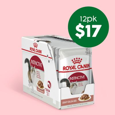 Royal Canin 12pk Pouches Only $17
