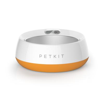PETKIT Fresh Metal Smart Digital Scale Pet Bowl Coral Orange For Dogs And Cats