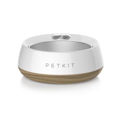 PETKIT Fresh Metal Smart Digital Scale Pet Bowl Wood Texture For Dogs And Cats