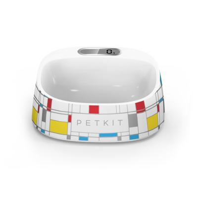 PETKIT Fresh Smart Antibacterial Digital Scale Pet Bowl Mondrian For Dogs And Cats