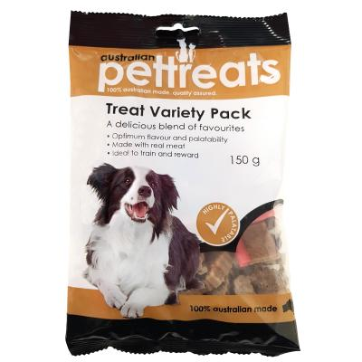 Australian Pettreats Treat Variety Pack Treats For Dogs 150gm