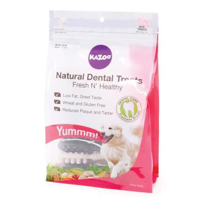Kazoo Natural Dental Tooth Brush Large Treats For Dogs 11pk 400gm