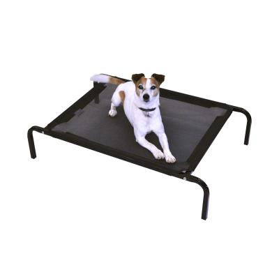FlashPet Heavy Duty Trampoline Bed Black Mesh Small 90cm x 60cm x 19cm For Dogs And Cats