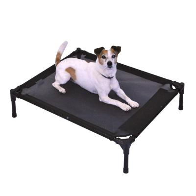 FlashPet Trampoline Bed Black Mesh Medium For Dogs And Cats