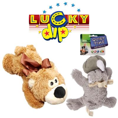 Vitapet Surprise Comfort Plush Animal Soft Toy For Dogs