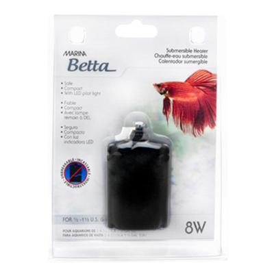 Marina Betta Submersible Heater 8W For 2-5L Aquariums