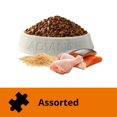 Advance Multi Cat Chicken And Salmon Adult Dry Cat Food 3kg
