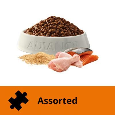 Advance Chicken And Salmon Adult Dry Cat Food 3kg