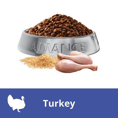 Advance Sensitive Turkey Adult Dry Cat Food 2kg