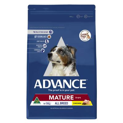 Advance All Breed Mature Chicken Dry Dog Food 15kg