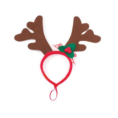 Kazoo Christmas Antlers Dress Up Small Toy For Dogs