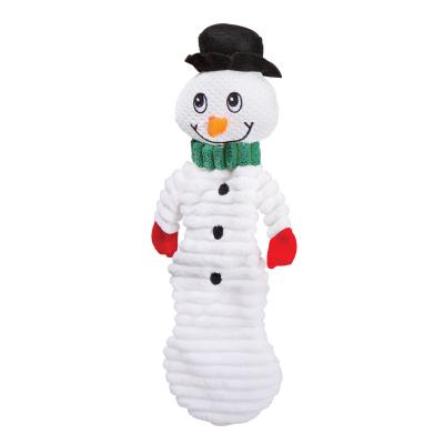 Kazoo Christmas Crinkle And Squeak Snowman Medium Toy For Dogs
