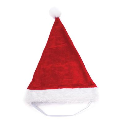 Kazoo Christmas Santa Hat Dress Up Large Toy For Dogs