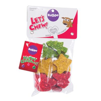 Kazoo Christmas Mini Assortments Munchy Treats For Dogs 150gm