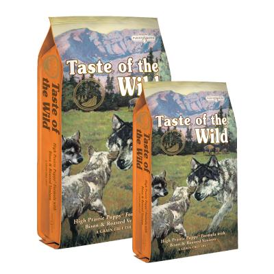 Taste of the Wild Grain Free High Prairie Roasted Bison And Venison Puppy Dry Dog Food 19kg