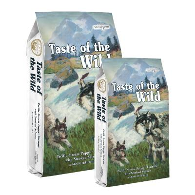 Taste of the Wild Grain Free Pacific Stream Smoked Salmon Puppy Dry Dog Food 19kg