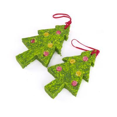 Kazoo Christmas Munchy Tree Treats For Dogs 2 Pack 100gm