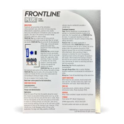 Frontline Plus For Dogs Medium 10-20kg 3 Pack