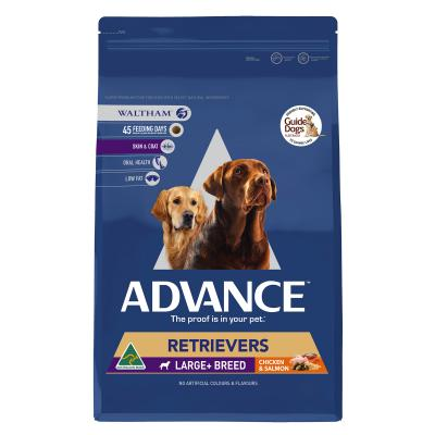 Advance Retrievers Large Breed Chicken & Salmon Adult Dry Dog Food 13kg
