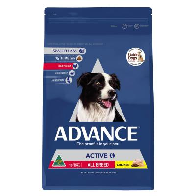 Advance Active All Breed Chicken Adult Dry Dog Food 13kg